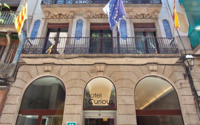 Hotel Curious вид на фасад