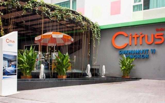 Отель Citrus Sukhumvit 11 Bangkok by Compass Hospitality вид на фасад