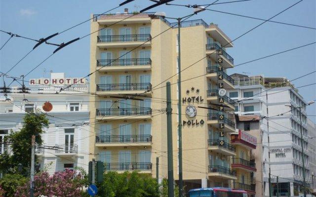 Отель Apollo Hotel Греция, Афины - 2 отзыва об отеле, цены и фото номеров - забронировать отель Apollo Hotel онлайн вид на фасад