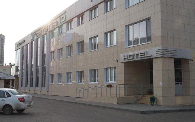 Гостиница ФортеПиано вид на фасад
