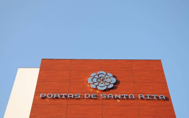 Hotel Portas De Santa Rita вид на фасад