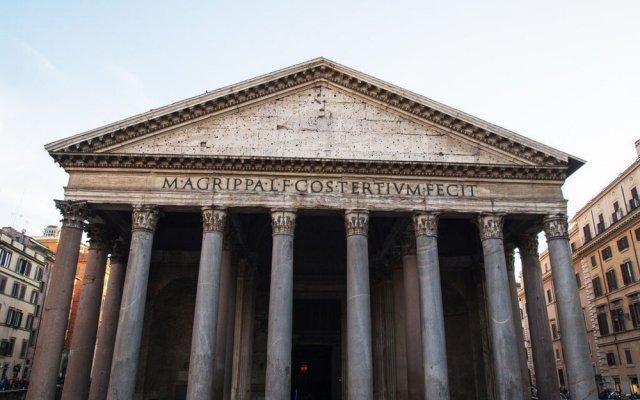 Отель Avila Palace - Piazza Navona вид на фасад