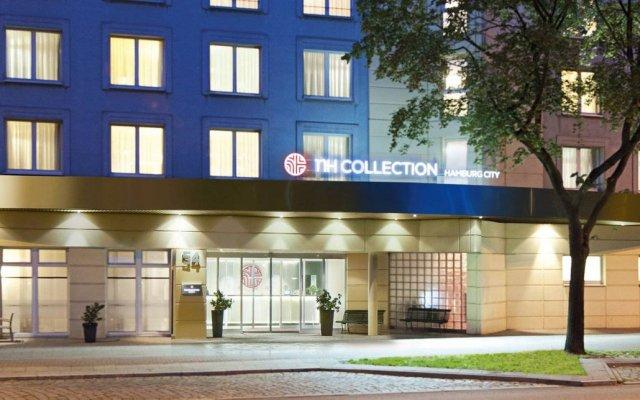 Отель NH Collection Hamburg City вид на фасад