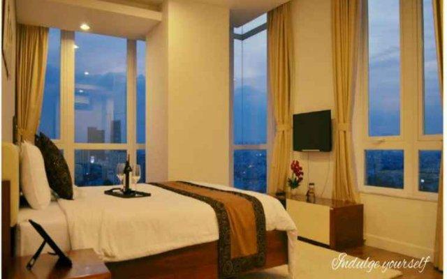 Отель An Phu Plaza Serviced Apartment Вьетнам, Хошимин - отзывы, цены и фото номеров - забронировать отель An Phu Plaza Serviced Apartment онлайн комната для гостей