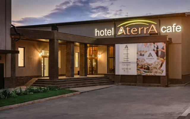 Гостиница Атерра вид на фасад