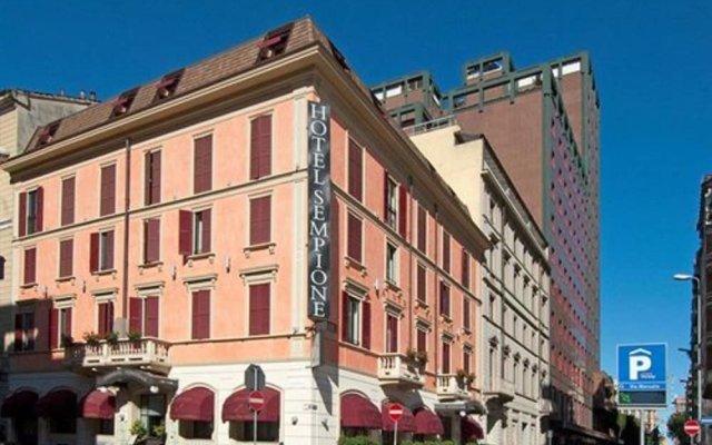 Hotel Sempione вид на фасад
