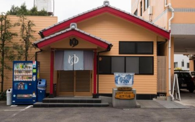 Отель Yuzennoyado Toukai Кашима вид на фасад