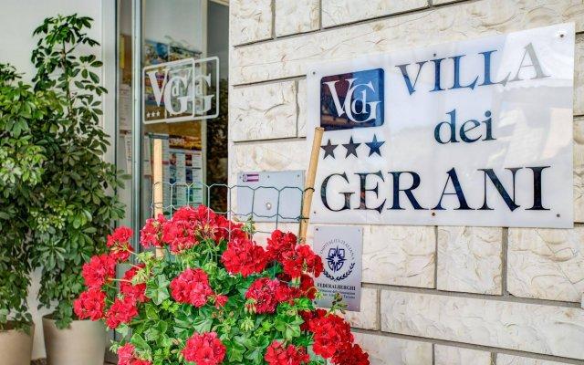 Отель Villa dei Gerani Италия, Римини - отзывы, цены и фото номеров - забронировать отель Villa dei Gerani онлайн вид на фасад