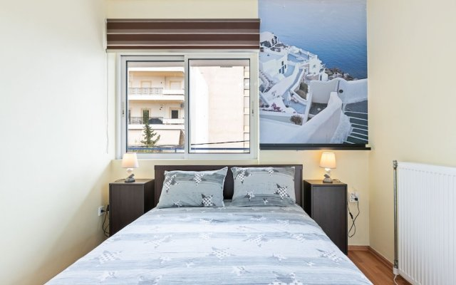 Homely Apartment in Piraeus With Balcony