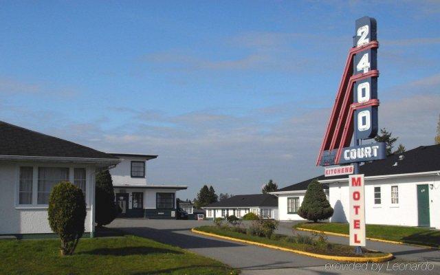 Отель 2400 Motel Канада, Ванкувер - отзывы, цены и фото номеров - забронировать отель 2400 Motel онлайн вид на фасад