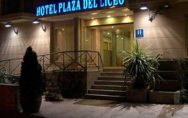 A&H Plaza del Liceo Hotel вид на фасад