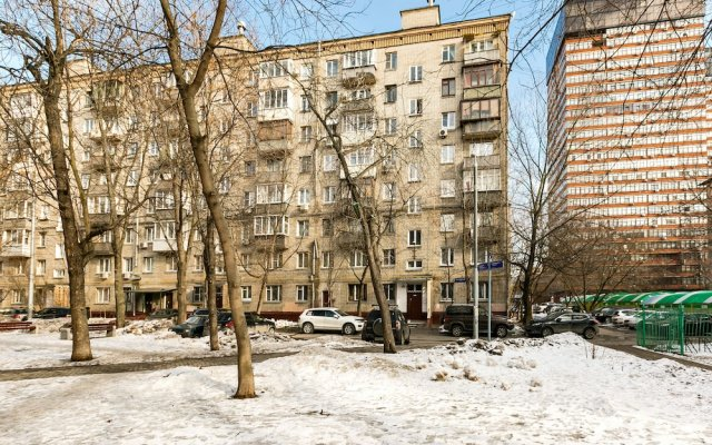 Гостиница MaxRealty24 Baltijskaya 6 k 3 в Москве отзывы, цены и фото номеров - забронировать гостиницу MaxRealty24 Baltijskaya 6 k 3 онлайн Москва вид на фасад