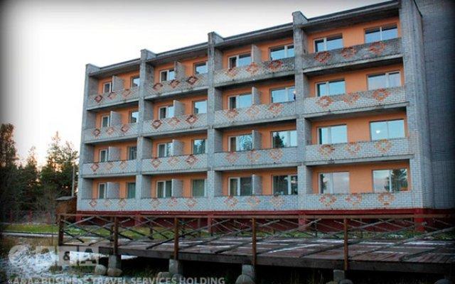 Гостиница Сегежа вид на фасад