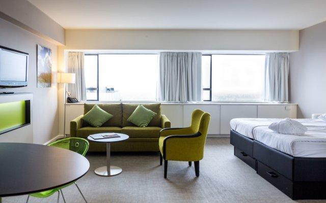 Отель Thon Hotel Brussels City Centre Бельгия, Брюссель - 4 отзыва об отеле, цены и фото номеров - забронировать отель Thon Hotel Brussels City Centre онлайн комната для гостей