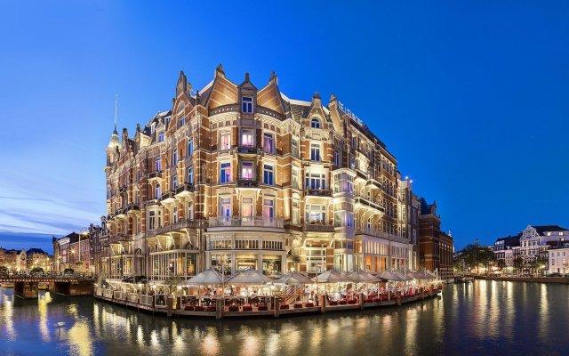Отель De L'Europe Amsterdam – The Leading Hotels of the World вид на фасад