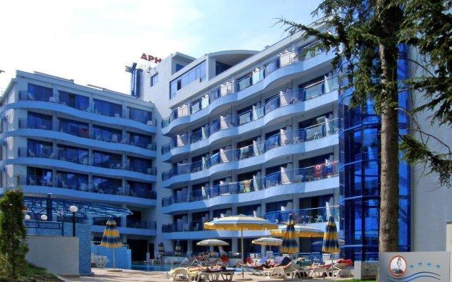 Aphrodite Hotel вид на фасад
