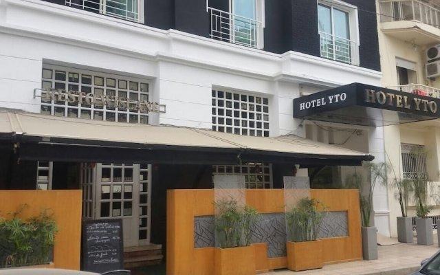 Hotel Yto вид на фасад