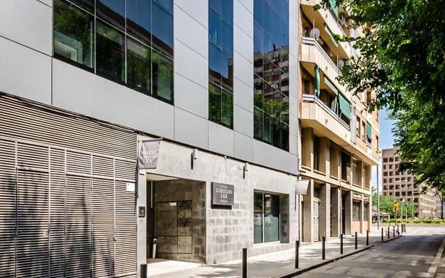 Отель Eurostars Lex вид на фасад