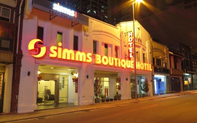 Simms Boutique Hotel Bukit Bintang вид на фасад