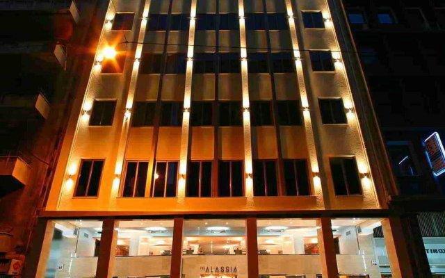 Отель Alassia Hotel Греция, Афины - 1 отзыв об отеле, цены и фото номеров - забронировать отель Alassia Hotel онлайн вид на фасад