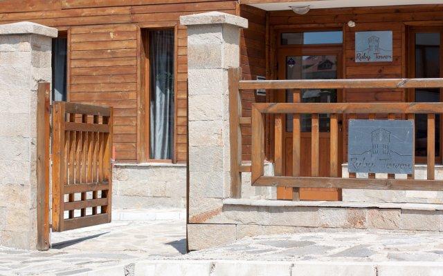 Отель Ruby Tower Apartments Болгария, Банско - отзывы, цены и фото номеров - забронировать отель Ruby Tower Apartments онлайн вид на фасад