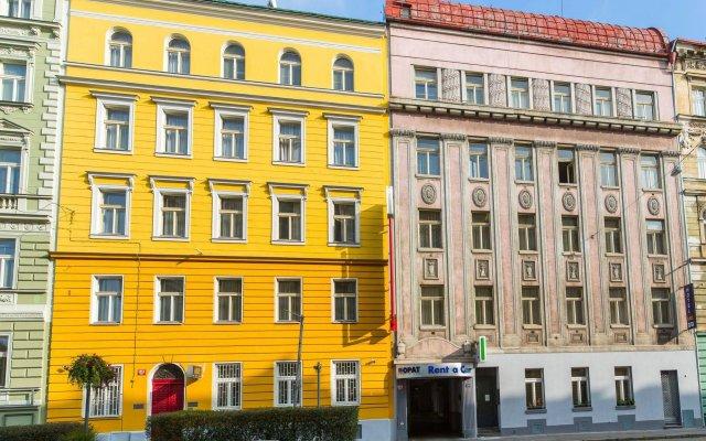 Отель ABE Прага вид на фасад