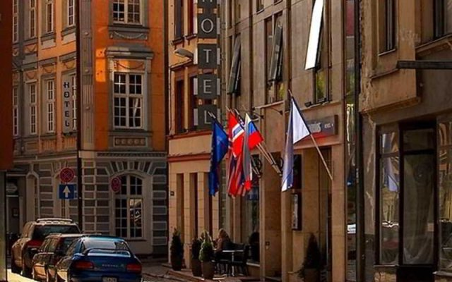 Old City Boutique Hotel вид на фасад