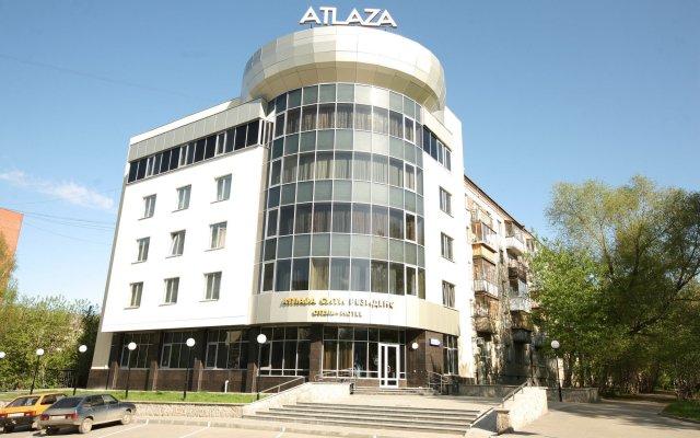 Отель Атлаза Сити Резиденс Екатеринбург вид на фасад