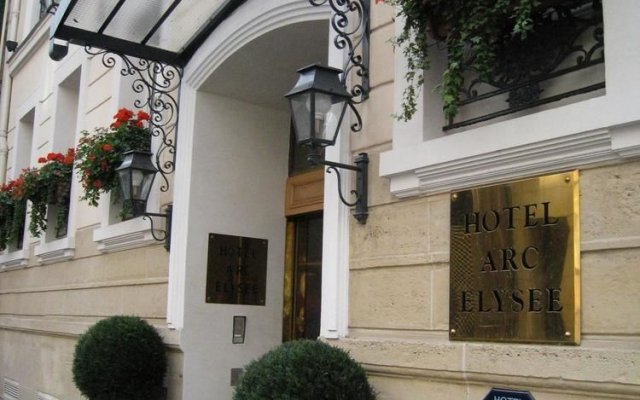 Отель Arc Elysées вид на фасад