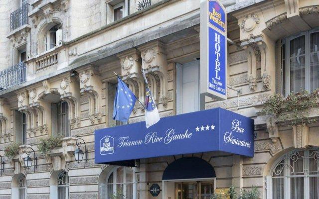 Hotel Trianon Rive Gauche вид на фасад