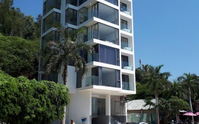 Отель Nha Trang Harbor Apartments & Hotel Вьетнам, Нячанг - отзывы, цены и фото номеров - забронировать отель Nha Trang Harbor Apartments & Hotel онлайн вид на фасад