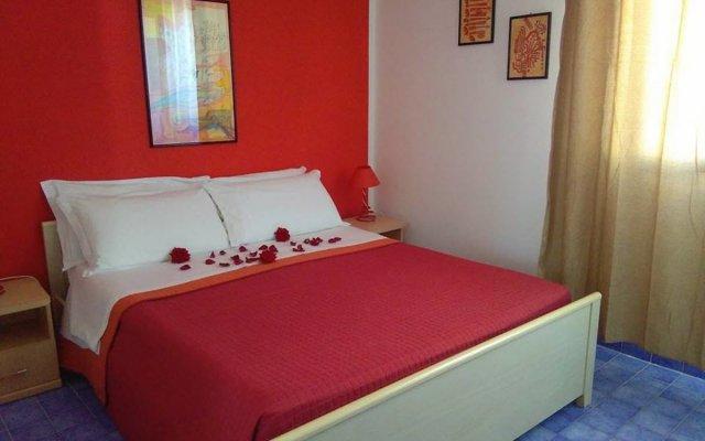 Отель B&B Nido Colorato Фонтане-Бьянке комната для гостей