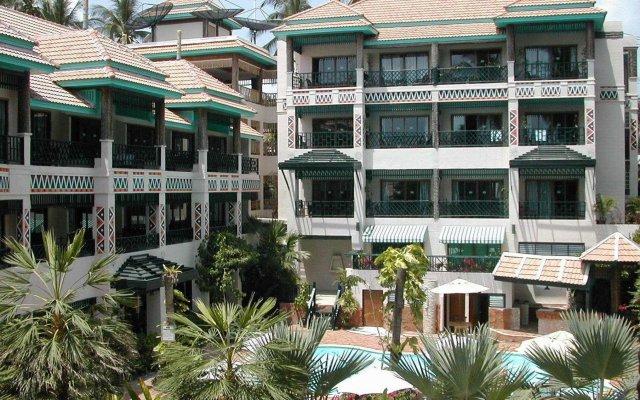Отель Chaba Cabana Beach Resort вид на фасад
