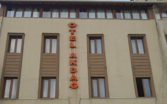 Отель Usak Otel Akdag вид на фасад