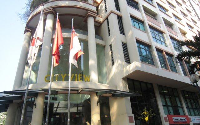 Апартаменты Cityview Serviced Apartment Ho Chi Minh City вид на фасад