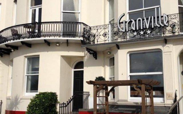 Отель Granville Hotel Великобритания, Брайтон - отзывы, цены и фото номеров - забронировать отель Granville Hotel онлайн вид на фасад