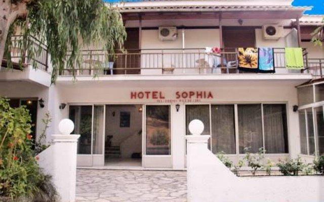 Отель Sophia Hotel Греция, Корфу - отзывы, цены и фото номеров - забронировать отель Sophia Hotel онлайн вид на фасад