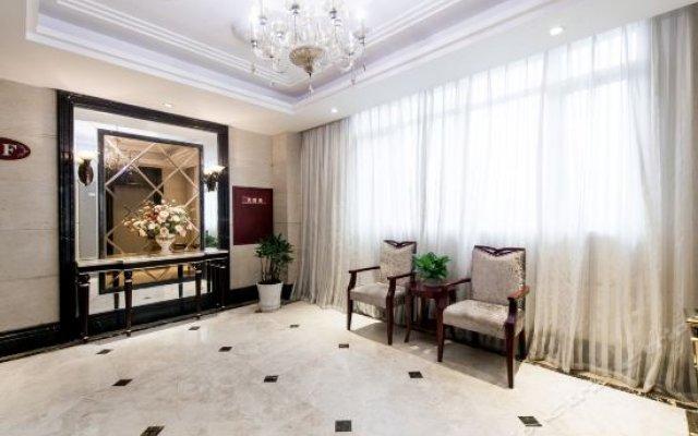 Aishang Business Hotel интерьер отеля