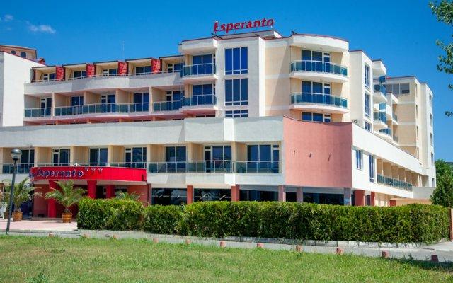 Esperanto Hotel Sunny Beach вид на фасад