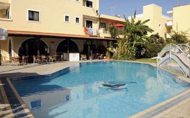 Отель Stavroula Apartments Греция, Кос - отзывы, цены и фото номеров - забронировать отель Stavroula Apartments онлайн бассейн