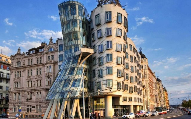 Апартаменты Superior Suites & Apartments in the Heart of Prague вид на фасад