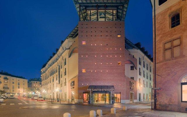 Отель NH Torino Santo Stefano Италия, Турин - 1 отзыв об отеле, цены и фото номеров - забронировать отель NH Torino Santo Stefano онлайн вид на фасад