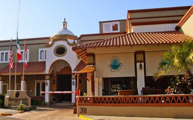 Отель Binniguenda Huatulco - Все включено вид на фасад