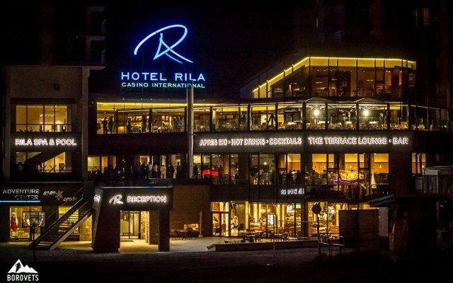 Rila Hotel Borovets вид на фасад