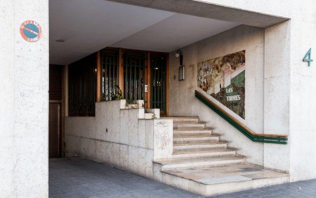 Отель Travel Habitat Torres De Serrano Валенсия вид на фасад