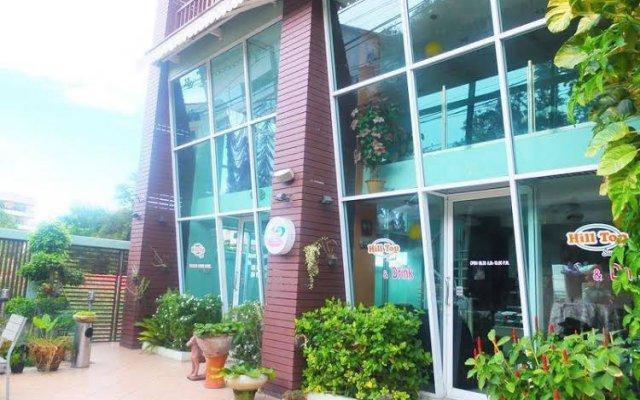 Апартаменты Hill Top Sweet Serviced Apartment Паттайя вид на фасад