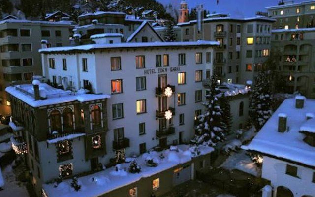 Отель Unique Hotel Eden Superior Швейцария, Санкт-Мориц - отзывы, цены и фото номеров - забронировать отель Unique Hotel Eden Superior онлайн вид на фасад