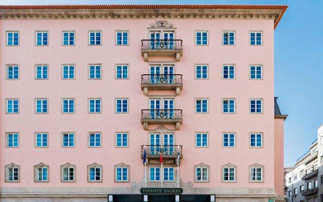 Отель Infante De Sagres Порту вид на фасад