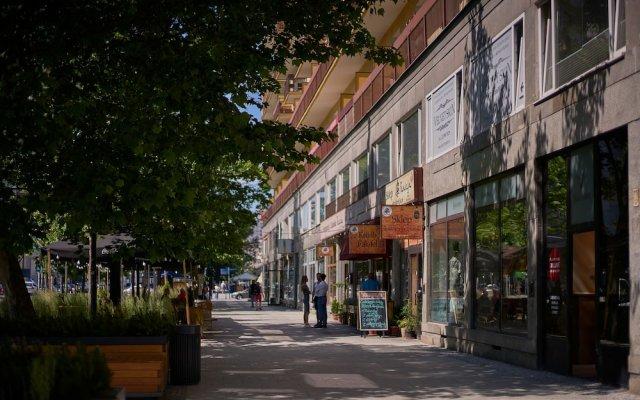 Апартаменты Good Time Apartments - Swietokrzyska вид на фасад