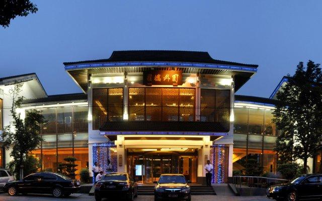 Suzhou Grand Garden hotel вид на фасад